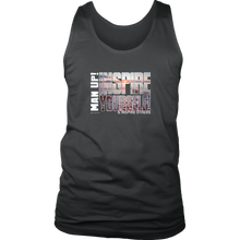 Man Up! Inspire Yourself Men's Tank - ManUp!Series