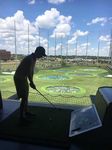 Top Golf in Denver, Colorado