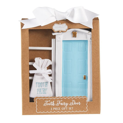 Blue Tooth Fairy Door