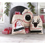 Christmas Canvas Sack - Santa