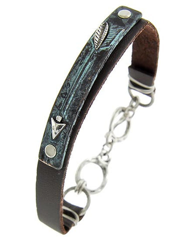 Patina Arrow Bracelet