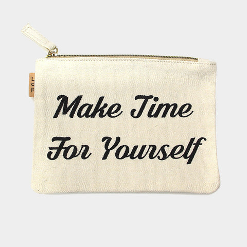 Make Time For Yourself Bag