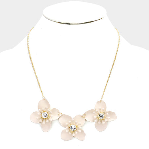 Natural Flower Necklace