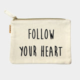 Follow You Heart Pouch Bag