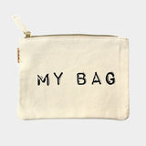 """My Bag"" Pouch Bag"