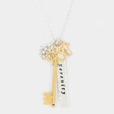 Serenity Key Necklace