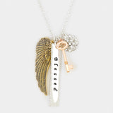 Blessed Angel Wings Necklace