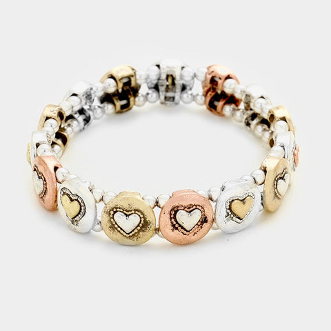 Heart Stretch Bracelet