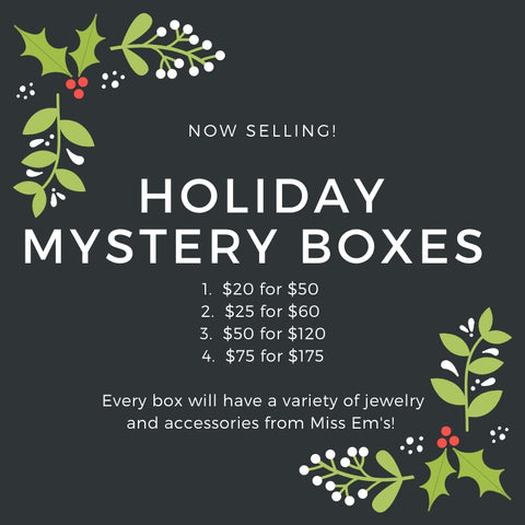 Holiday Mystery Boxes