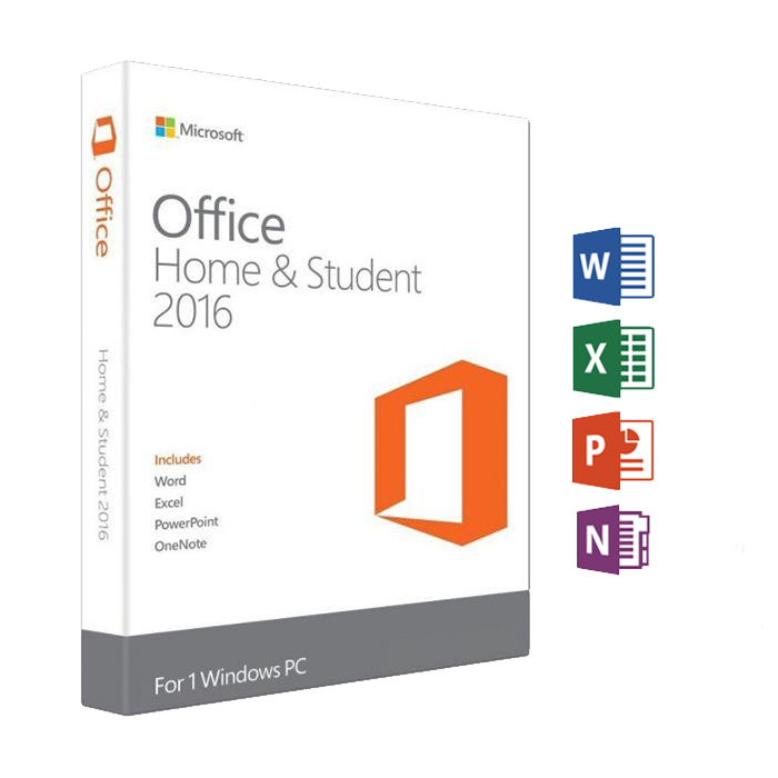 Office Home and Student 2016 1 PC (Digital Download) | Windows 10