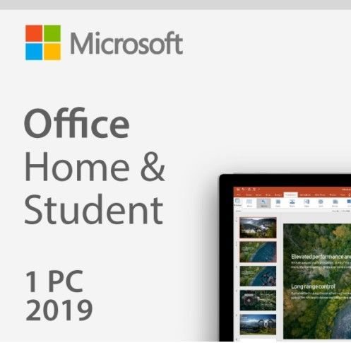 Office Home and Student 2019  1 PC (Digital Download) | Windows 10