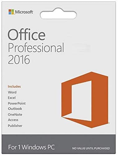 Office Professional Plus 2016 1 PC (Lifetime Activation) | Instant Email Delivery