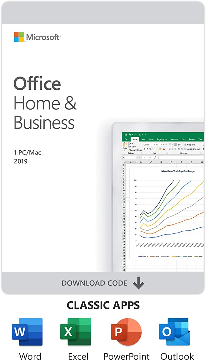 Office Home and Business 2019 for Mac Only | Digital Email Delivery