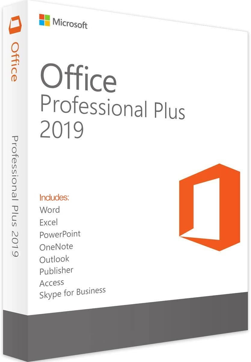 Office Professional Plus 2019 for Windows 10 Only (Instant Email Delivery)