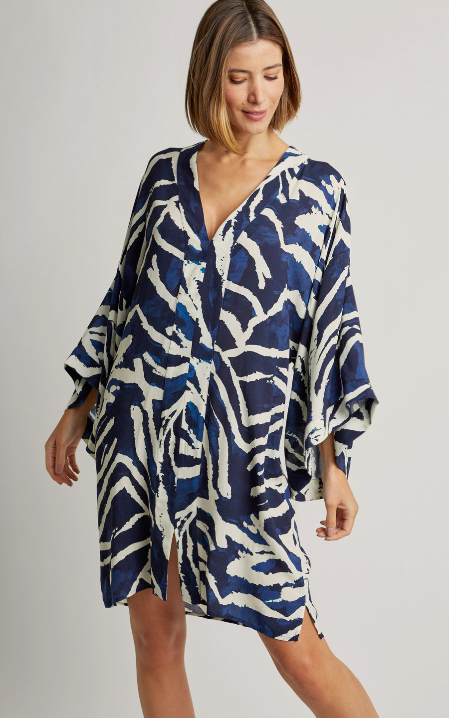 Araguaia Front Slit Tunic Cover-Up