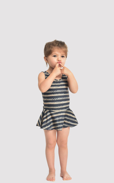 Indigo Kids Skirt One Piece Swimsuit