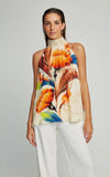 Terra Nova High Neck Silk Runway Tank