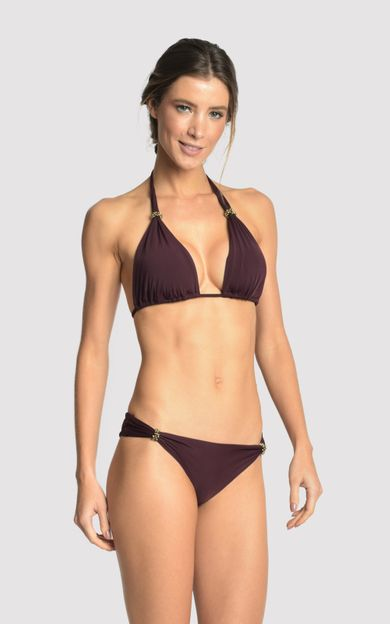 EGGPLANT ADJUSTABLE ACCESSORY BIKINI