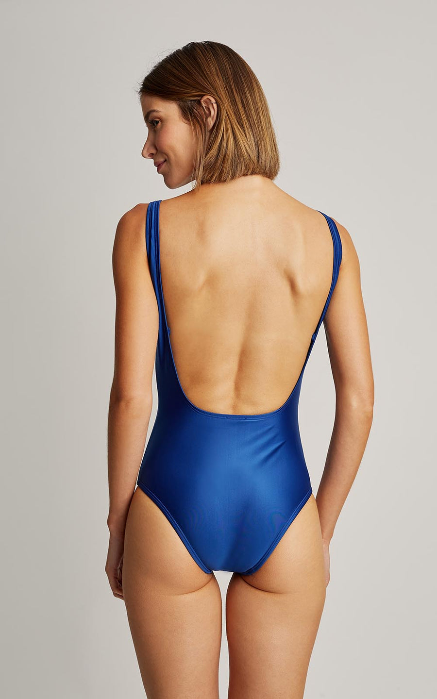Royal Blue Classic Embellished One Piece Swimsuit (SUSTAINABLE COLLECTION)