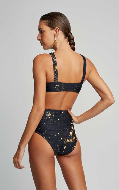 Constellation Athletic Runway Top and Hot Pants Runway Bottom