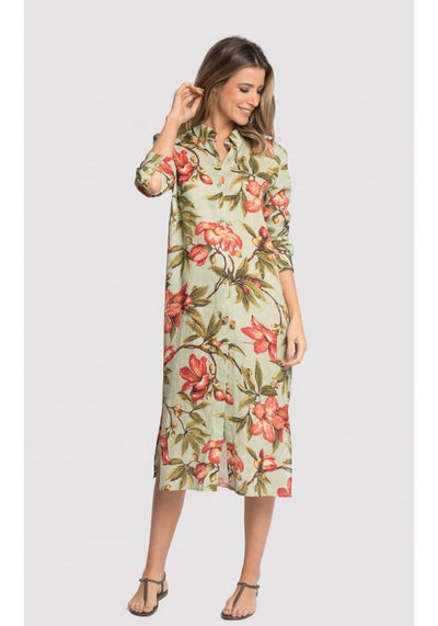 Flora Rustic Chemise Cover-Up