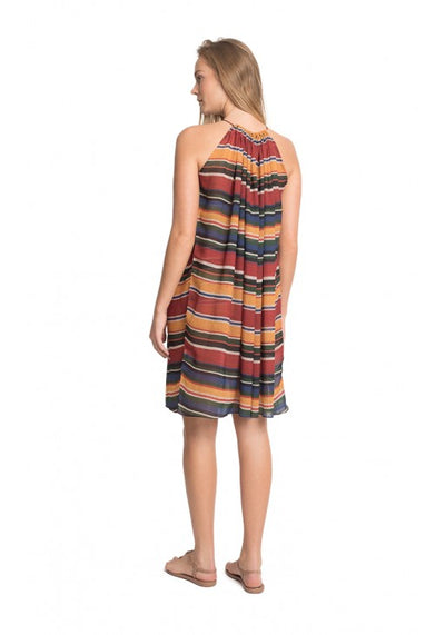 Azteca Beads Short Dress Cover-Up