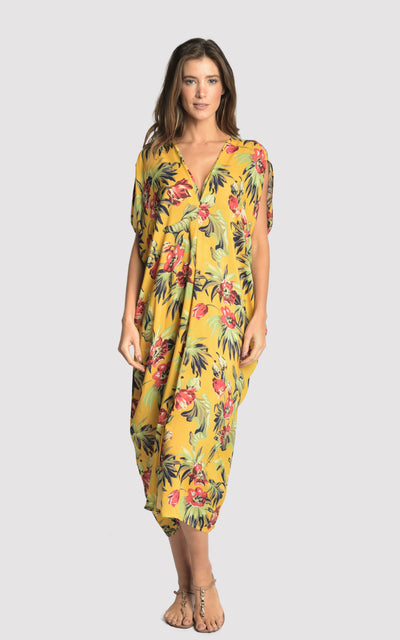 Tropical Gipsy Caftan Cover-up