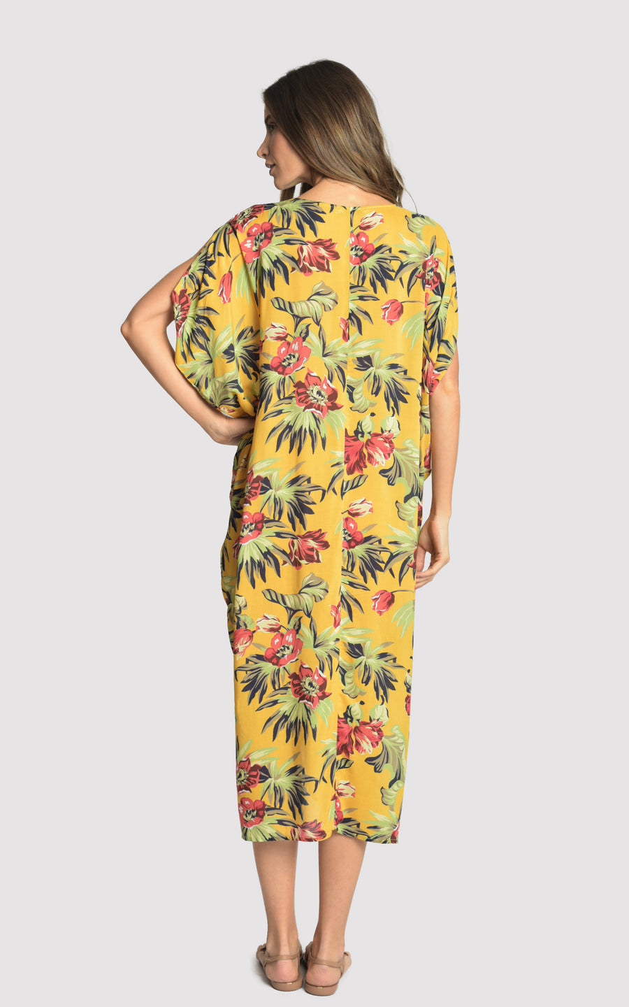 TROPICAL GIPSY CAFTAN