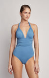 Pacific Adjustable Halter One Piece Swimsuit