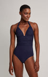 Shangai Adjustable Halter One Piece Swimsuit