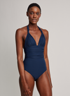 North Adjustable Halter One Piece Swimsuit