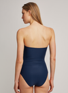 North Drop Bandeau One-Piece Swimsuit (Sustainable Collection)