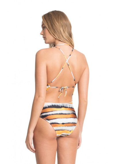 IRIS BEADED COLLAR MAILLOT