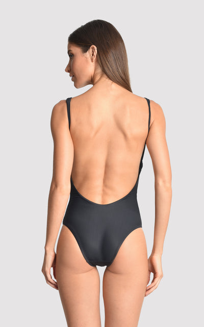 BLACK DECO TOUCH ONE PIECE