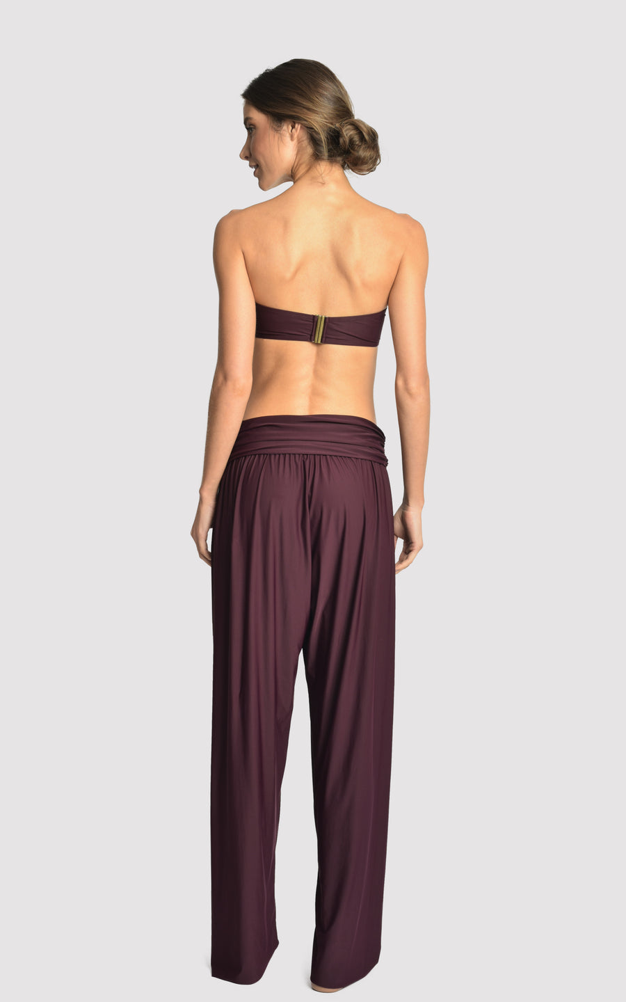 EGGPLANT YOGA TOUCH PANTS