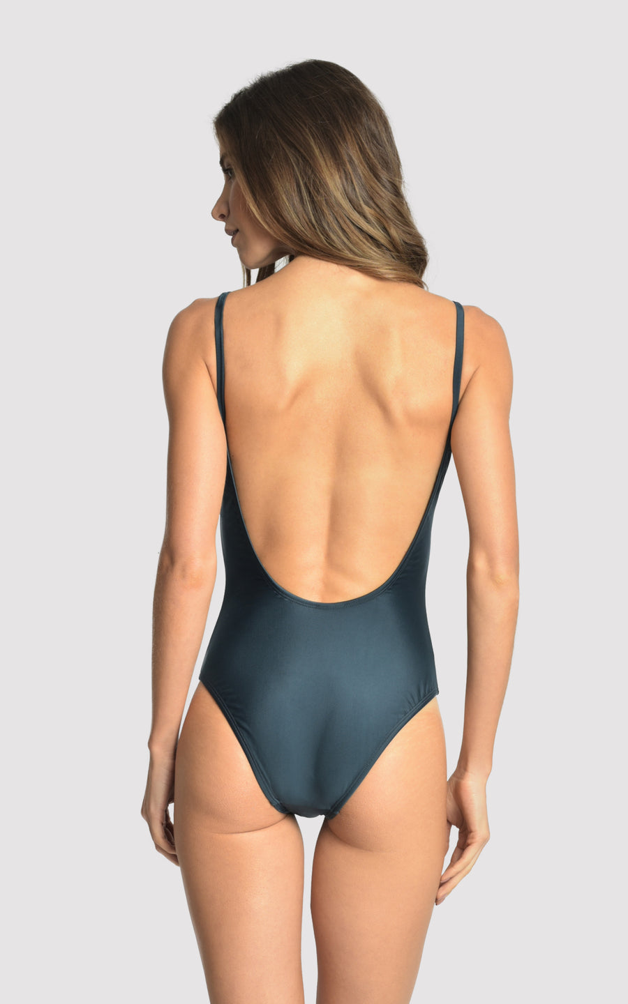 Blue Star Tank One Piece Swimsuit