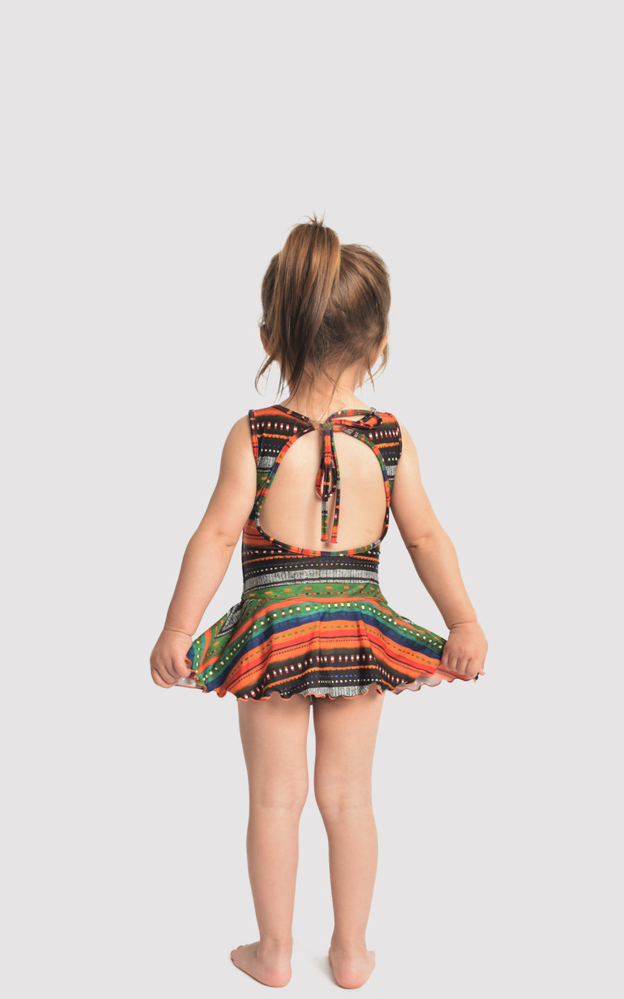 Tupi Kids Skirt One Piece Swimsuit