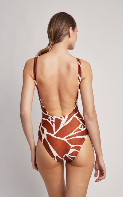 Giraffe Classic One Piece Swimsuit