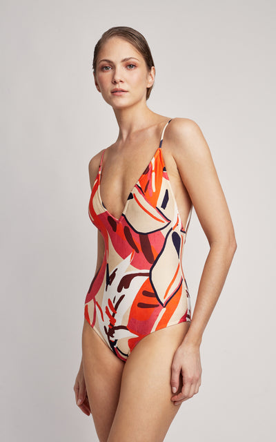 Tahiti Basic V One Piece Swimsuit