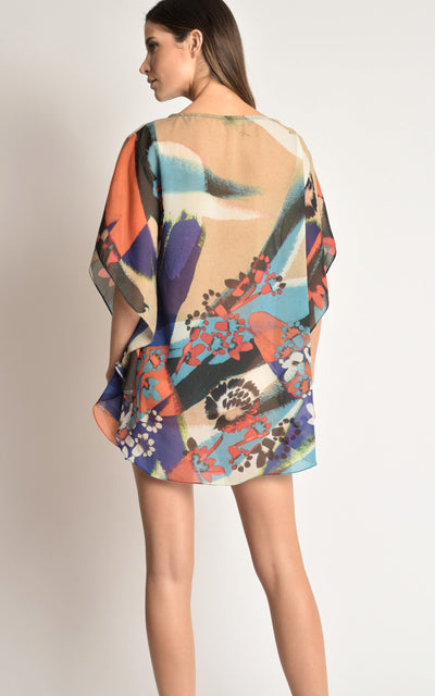 Brush New Caftan Cover-Up