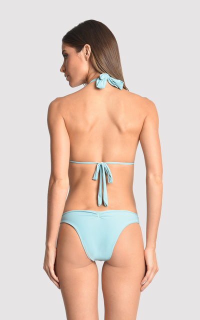 Sea Water Ring Halter Top and Bottom