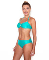Green Sea Drop Bandeau