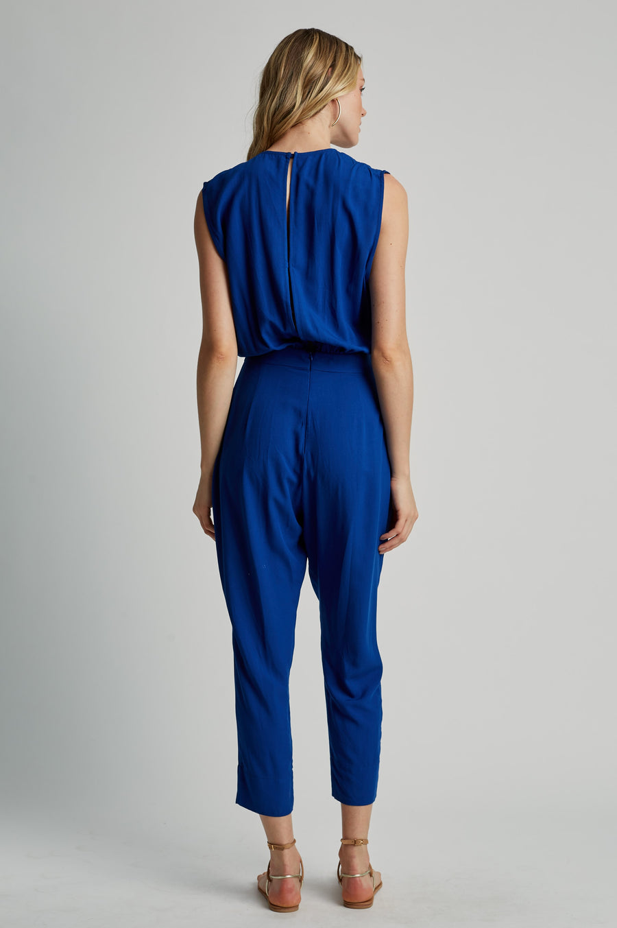 Royal Blue Cachecouer Jumpsuit