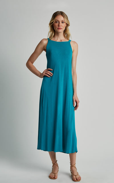 Jade Knot Knitting Dress