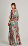 Mineral Long Caftan Cover-Up