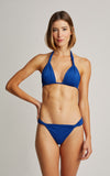 Royal Blue Adjustable Bikini Top  (SUSTAINABLE COLLECTION)