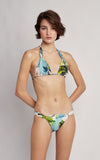 Polynesia  Adjustable Lycra Top and Bottom Bikini Set