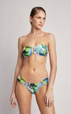 Polynesia Drop Bandeau Top and Draped Bottom