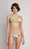 Polynesia String Top and Bottom Bikini Set