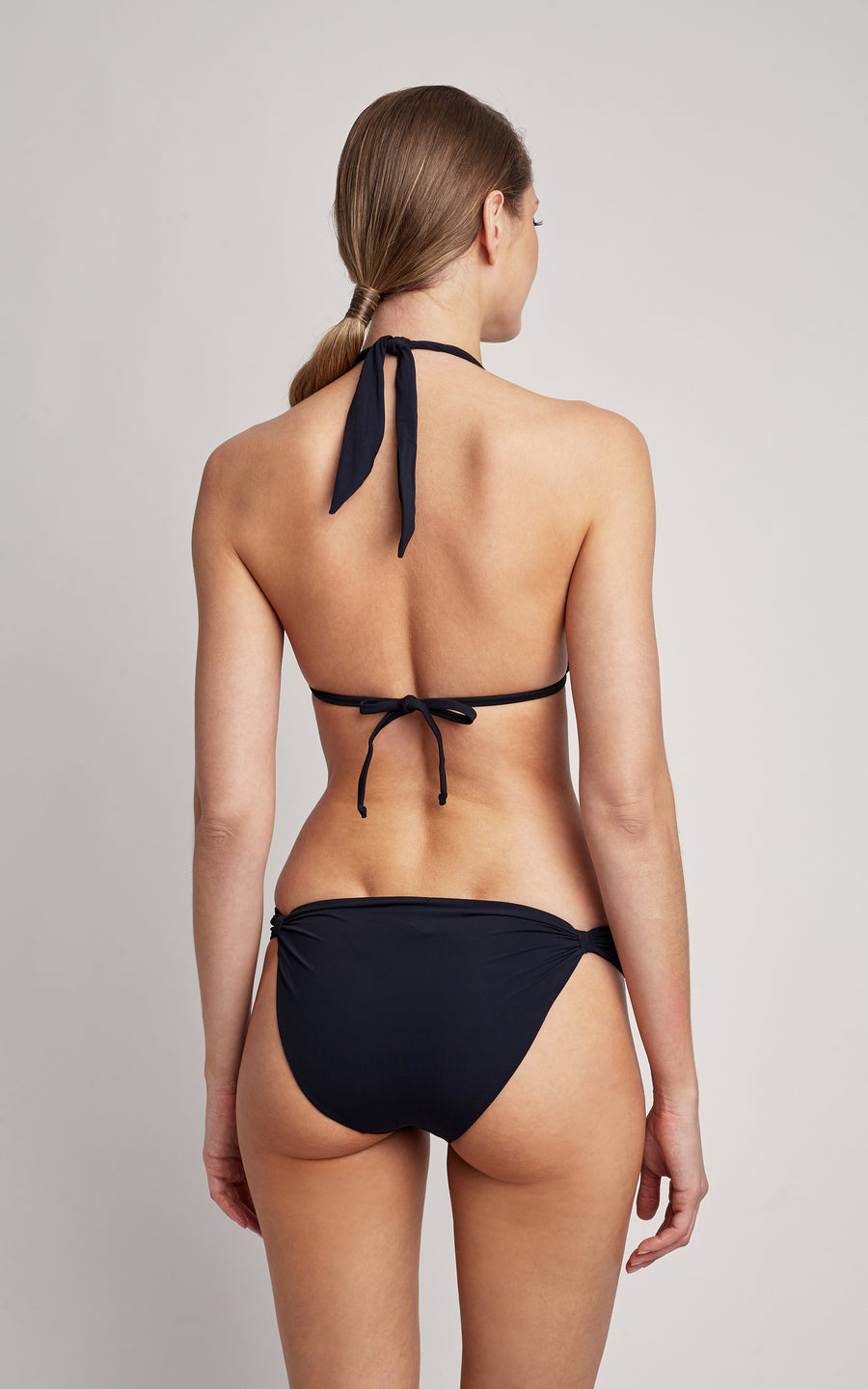 Black Adjustable Bikini Bottom